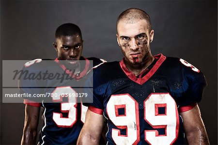 Football Players in Studio Stock Photo - Rights-Managed, Image code: 700-03698179