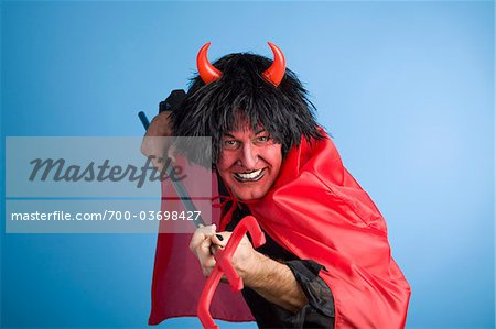 Portrait of the Devil Stock Photo - Rights-Managed, Image code: 700-03698427