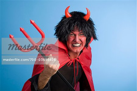 Portrait of the Devil Stock Photo - Rights-Managed, Image code: 700-03698428