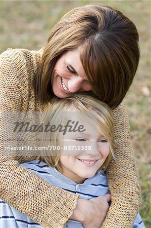 Close-Up of Mother and Son Stock Photo - Rights-Managed, Image code: 700-03719338