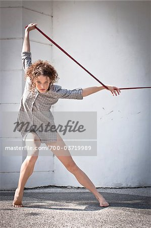 Woman Dancing Stock Photo - Rights-Managed, Image code: 700-03719989
