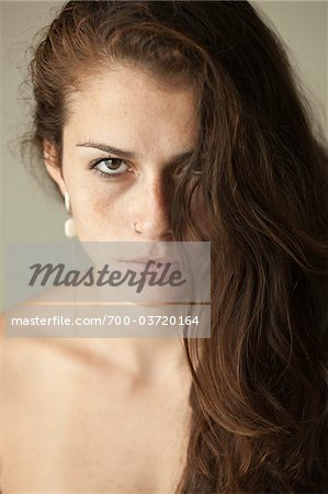 Portrait of Woman Stock Photo - Rights-Managed, Image code: 700-03720164