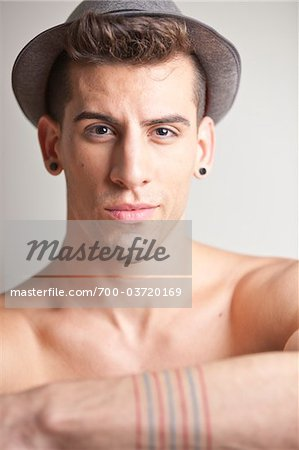 Portrait of Man Stock Photo - Rights-Managed, Image code: 700-03720169