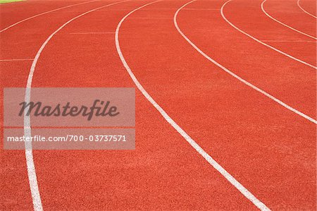Running Track Stock Photo - Rights-Managed, Image code: 700-03737571
