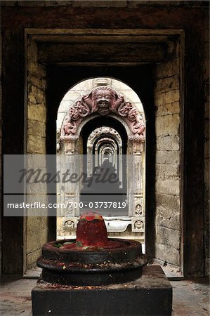 Pashupatinath Temple, Kathmandu, Bagmati, Madhyamanchal, Nepal Stock Photo - Rights-Managed, Image code: 700-03737819