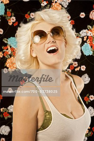 Portrait of Women in 1970's Style Stock Photo - Rights-Managed, Image code: 700-03738025