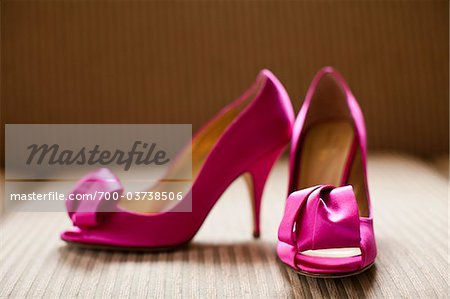 Pink High Heels Stock Photo - Rights-Managed, Image code: 700-03738506