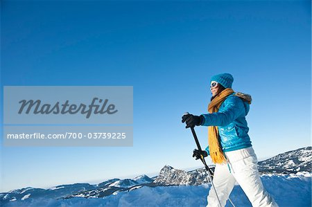 Woman Cross Country Skiing Stock Photo - Rights-Managed, Image code: 700-03739225