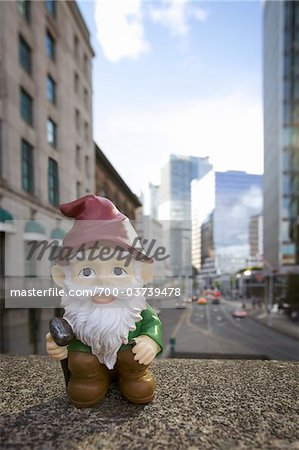 Gnome in City Stock Photo - Rights-Managed, Image code: 700-03739478