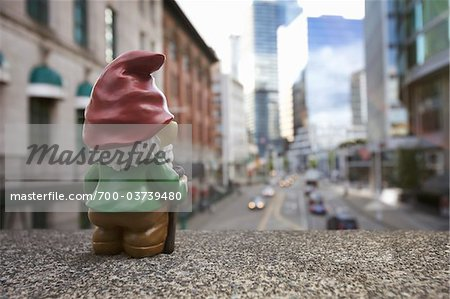 Gnome in City Stock Photo - Rights-Managed, Image code: 700-03739480