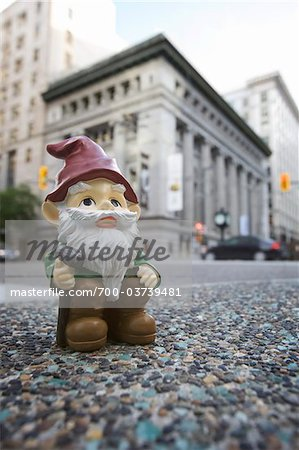 Gnome in City Stock Photo - Rights-Managed, Image code: 700-03739481
