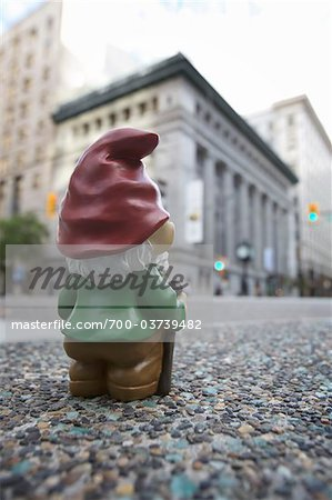 Gnome in City Stock Photo - Rights-Managed, Image code: 700-03739482