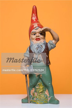 Still Life of Garden Gnome Stock Photo - Rights-Managed, Image code: 700-03762524