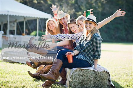 Group of Teenage Girls Being Silly Stock Photo - Rights-Managed, Image code: 700-03762681