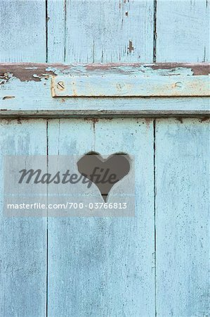 Close-up of Blue Window Shutters Stock Photo - Rights-Managed, Image code: 700-03766813