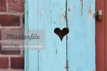 Close-up of Blue Window Shutters Stock Photo - Rights-Managed, Image code: 700-03766814
