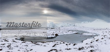 Rannoch Moor in Winter, Scotland Stock Photo - Rights-Managed, Image code: 700-03768722