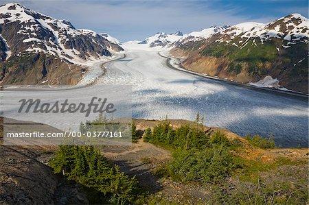 Salmon Glacier near Stewart, British Columbia, Canada