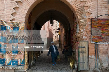 Gate to the Souk, Marrakech, Morocco Stock Photo - Rights-Managed, Image code: 700-03778127