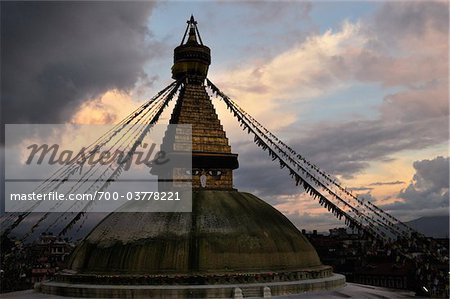 Boudhanath, Kathmandu, Nepal Stock Photo - Rights-Managed, Image code: 700-03778221