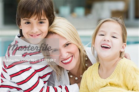 Mother with Son and Daughter Stock Photo - Rights-Managed, Image code: 700-03778642