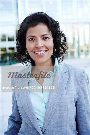 Portrait of Businesswoman Stock Photo - Rights-Managed, Image code: 700-03814365