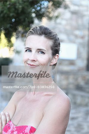 Portrait of Woman Stock Photo - Rights-Managed, Image code: 700-03836250