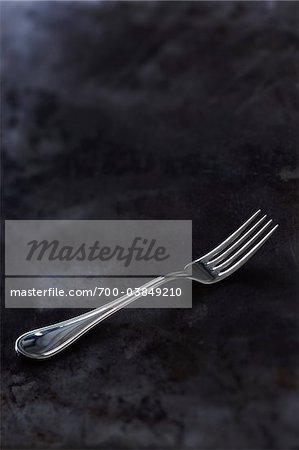 Still Life of Antique Silver Fork Stock Photo - Rights-Managed, Image code: 700-03849210