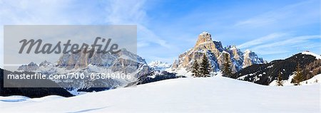 Mount Sassongher, Corvara, South Tyrol, Italy Stock Photo - Rights-Managed, Image code: 700-03849406