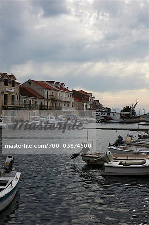 Harbor Along Dalmatia Coast, Croatia Stock Photo - Rights-Managed, Image code: 700-03874600