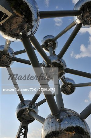 Atomium, Brussels, Belgium Stock Photo - Rights-Managed, Image code: 700-03891079