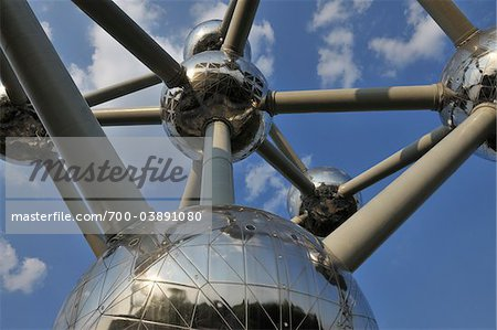 Atomium, Brussels, Belgium Stock Photo - Rights-Managed, Image code: 700-03891080