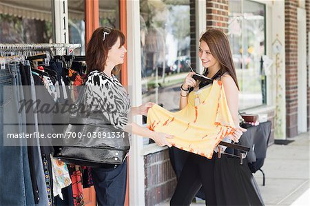 Mother and Daughter Shopping Stock Photo - Rights-Managed, Image code: 700-03891334