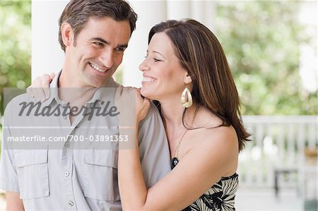 Couple on Porch Stock Photo - Rights-Managed, Image code: 700-03891353