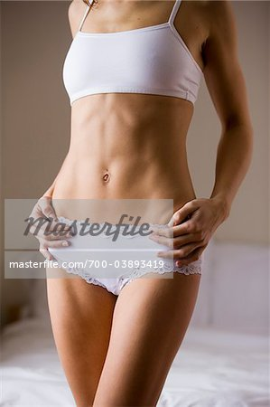 Woman Wearing Underwear Stock Photo - Rights-Managed, Image code: 700-03893419