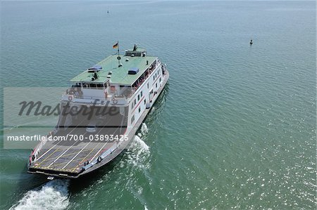 Ferry on Bodensee, Friedrichshafen, Baden-Wurttemberg, Germany Stock Photo - Rights-Managed, Image code: 700-03893425