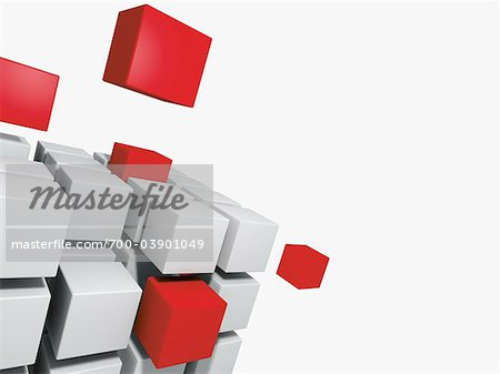 Abstract Square Shapes Stock Photo - Rights-Managed, Image code: 700-03901049