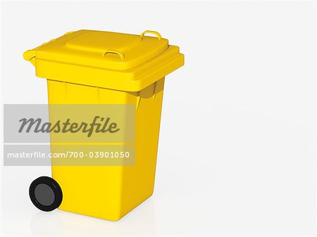 Yellow Bin Stock Photo - Rights-Managed, Image code: 700-03901050