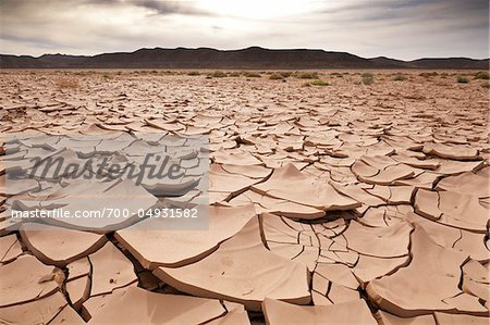 Close-Up of Dry, Cracked Earth, Awbari, Fezzan, Libya Stock Photo - Rights-Managed, Image code: 700-04931582