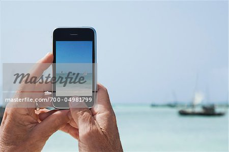Taking Photos with iPhone Stock Photo - Rights-Managed, Image code: 700-04981799
