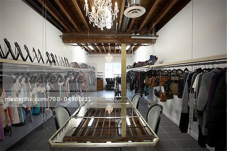 Interior of Clothing Showroom Stock Photo - Rights-Managed, Image code: 700-04981811