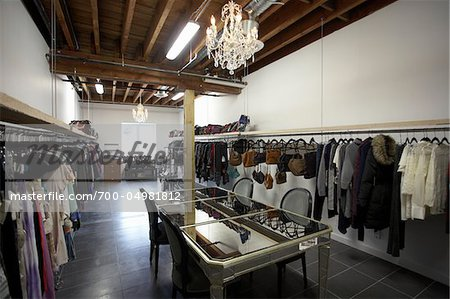 Interior of Clothing Store Stock Photo - Rights-Managed, Image code: 700-04981812
