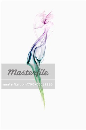 Multi-Coloured Smoke Stock Photo - Rights-Managed, Image code: 700-05389220