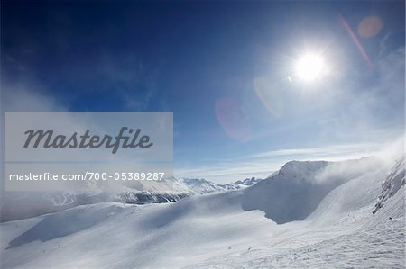 Winter Landscape, Whistler Mountain, Whistler, British Columbia, Canada Stock Photo - Rights-Managed, Image code: 700-05389287