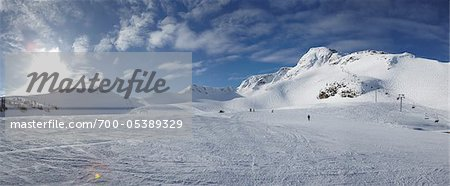 Ski Hill, Whistler Mountain, Whistler, British Columbia, Canada Stock Photo - Rights-Managed, Image code: 700-05389329
