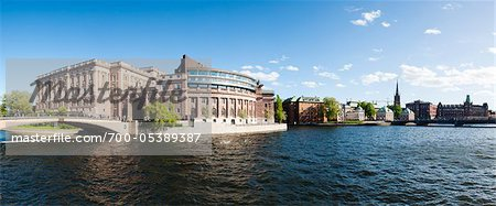 Parliament Building, Gamla Stan, Stockholm, Sweden Stock Photo - Rights-Managed, Image code: 700-05389387