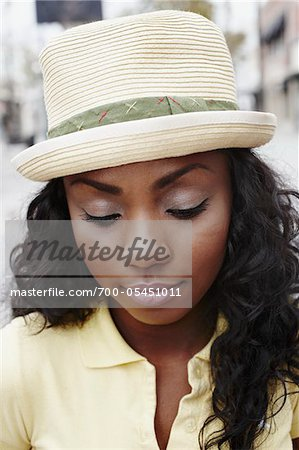 Close-Up of Woman Stock Photo - Rights-Managed, Image code: 700-05451011