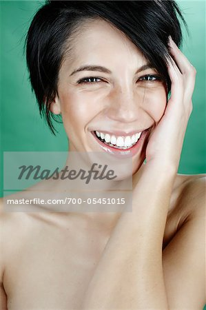 Portrait of Woman Stock Photo - Rights-Managed, Image code: 700-05451015