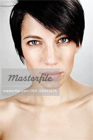 Close-Up of Woman Stock Photo - Rights-Managed, Image code: 700-05451025