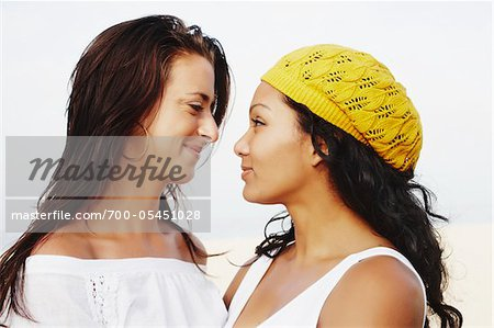 Couple Gazing at Each Other Stock Photo - Rights-Managed, Image code: 700-05451028
